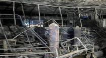 oxygen tank blast in baghdad hospital