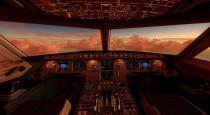 passenger go to pilot room in flight