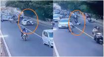 A Delhi traffic police constable was dragged on the bonnet of a car