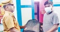 Police handover missed bag to train passenger