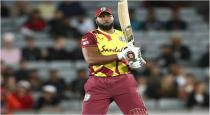 Pollard hits 6 sixes in six balls