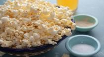 man sruggled heart attack by eating popcorn