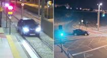 drunk-women-drove-car-on-railway-track-viral-video
