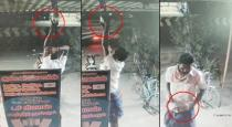 man-steal-led-bulb-from-mobile-shop-viral-video