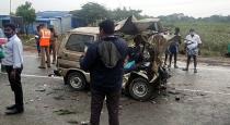 Madurai car accident 5 dead on spot