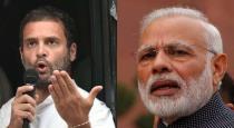 Rahul Gandhi challenges Prime Minister Modi