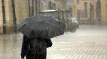Heavy rain in Chennai and 4 districts in next 6 hours