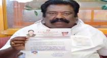 Rathinasababathi resign post from admk