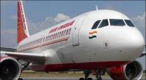 Bird touched in Air india flight