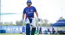 senior players complain about rohit sharma for playing before full cure