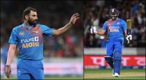 Rohit is a pur package shami praises