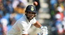 Rohit sharma improved icc test batsman list