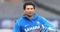 Sachin again help to people