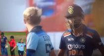 Sam Curran and hardik pandiya fight viral video
