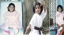 Actress samantha childhood photos