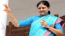 Sasikala will come for her brother son marriage?