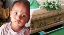 Parents shocked for baby still alive in funeral