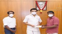 seeman and barathiraja give relief fund