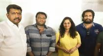 shalini mam watched draubathi movie at rohini silver cinemas