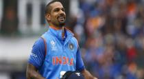 Dhawan hard work and secret behinds the match against to Australia