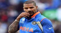 world cup 2019 - indian player dhavan - exsercise video