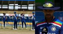 Shikar dhawan srilanka toss funny moment