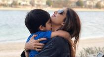 shilpa shetty and viaan underwater in phuket viral video