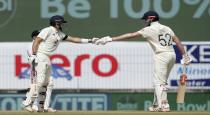 england batsmen create strong partnership against india in first test