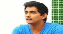 actor sidarth compares kerala flood with TN flood