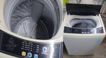 Snake found in Washing machine near Andhra