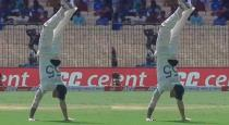 Ben stokes hand stand viral video
