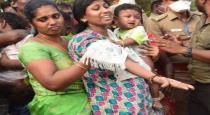 police supramani wife crying in husband funeral