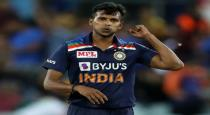 ICC wishes to Indian player Natarajan