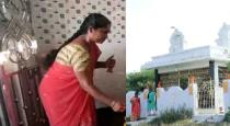 wife builds a temple for her husband