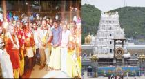 Villagers went to thirupati temple for rain