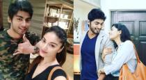 tharshan tweet about love with sanam shetty
