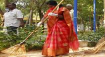 thamilisai-cleaning-park