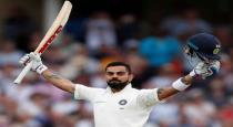 Virat kohli again top on icc test cricket