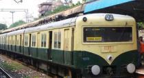 women suicide attempt in train