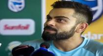 virat kholi talk about england match