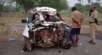 Chennai car accident 5 dead on spot