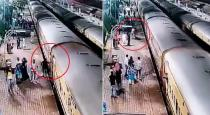 RPF Cop Saves Passenger Who Slipped Trying To Board Moving Train