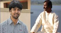 madhan karky support to his father vairamuthu
