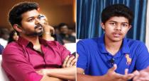 Vijay playing with his son viral photo