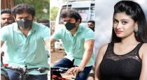 actress-oviya-twit-about-vijay-went-to-cast-vote-by-cyc