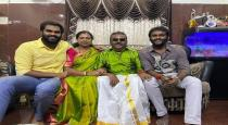 Vijayakanths house deepavali celebration photos