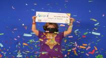 Women won 60 million dollar in jackpot using numbers from husband dream