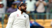Virat said the racist attacks on the ground were unacceptable.