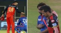 virat kholi Comforting to delhi team