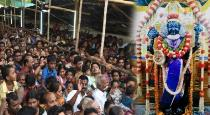 electrical discharge in atthivarathar temple